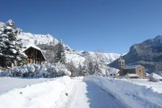 Chalet et maison dans les villages des Orres