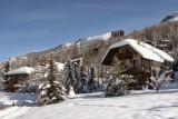 Les Orres Chalet lagopede-exterieur-hiver